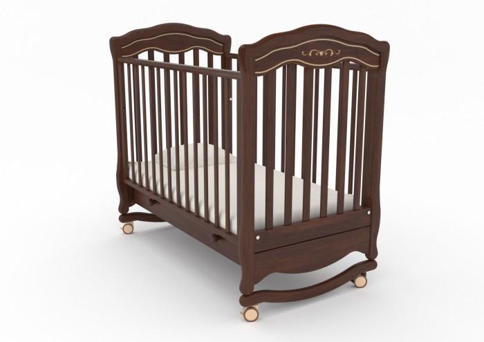 Детские кроватки Гандылян Шарлотта люкс (качалка) детские кроватки гандылян габриэлла люкс качалка