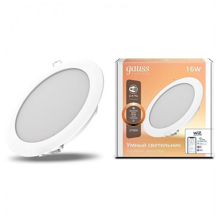 Купить Светильники, Светильник Gauss Cветодиодный Smart Home DIM 16 Вт