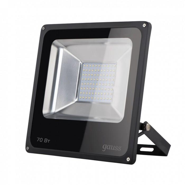 Светильники Gauss Прожектор светодиодный Elementary 70W 4370lm IP65 6500К прожектор gauss светодиодный elementary 20w 6500к 628511320