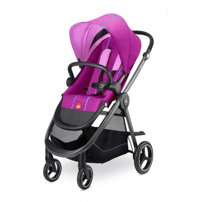 Прогулочная коляска GB Beli Air 4Beli Air 4Прогулочная коляска GB Beli Air 4 с реверсивным сидением, просторным и длинным спальным местом, продуманный механизм раскладывания спинки с правильным перераспределением центра тяжести.  Особенности: Стильная городская прогулочная коляска.  Легкое аллюминиевое шасси классической стильной формы.   Прогулочный блок может быть установлен в разных направлениях (по/против ходя  движения).  Легко складывается и раскладывается, компактна.  Комфортные пятиточечные ремни безопасности.  Настройки положения спинки и подножки, блокировка передних колес.  Большая корзина для покупок.  Прогулочный блок: предназначена для малышей с 6-ти месяцев регулируемая спинка (3 положения) регулируемая по высоте подножка объемный капюшон с защитой UVP50+ и москитным окошком  пятиточечные ремни безопасности с мягкими накладками удобный доступ к корзине для покупок съемный бампер соответствует стандартам безопасности  максимальная нагрузка до 17-ти кг.  Ручка: удобная ручка эргономичной формы регулируемая (3 положения).  Колеса: передние колеса поворотные, вращаются на 360 градусов с блокировкой.  Шасси: легкое аллюминиевое шасси классической стильной формы тип складывания «книжка», очень компактна тормоз на задние колеса вместительная, тканевая корзина для покупок.<br>