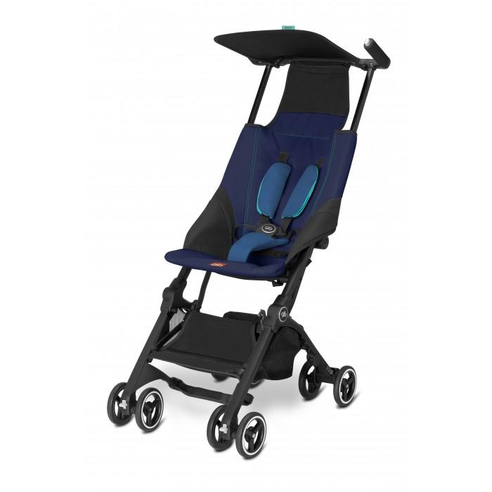 Прогулочная коляска GB PockitPockitПрогулочная коляска GB Pockit. Это уникальная коляска, представленная на выставке ABC Kids Expo в Лас-Вегасе в 2015 году вошла в книгу рекордов Гиннеса как самая маленькая в мире складная коляска. Модель настолько миниатюрна в сложенном виде, что легко поместится в сумку и соответствует всем нормам и параметрам ручной клади для авиаперелетов!   Кроме своей мобильности, модель обладает прекрасной проходимостью, обеспеченной поворотными передними колесами, которые фиксируются случае необходимости. Легкий тент защитит малыша от яркого солнца, а 5-ти точечные ремни станут залогом безопасной прогулки.   Мама по достоинству оценит не только компактность, но и универсальность - тканевая корзина, способная вынести нагрузку до 5 кг сделает прогулку легкой и комфортной.  Прогулочный блок: для детей от 6-ти месяцев (весом до 17 кг) легкий козырек от солнца просторное сиденье 5-ти точечные ремни безопасности с мягкими накладками съемное сиденье можно стирать.  Шасси: две раздельные ручки ручка эргономичной формы передние колеса поворотные, с возможностью фиксации прочное и легкое шасси компактные размеры в сложенном виде можно управлять одной рукой тканевая корзина для вещей весом до 5 кг.  Размеры: Размер в разложенном виде (дхшхв): 71х44.5х101 см Размер в сложенном размере (дхшхв): 18х30х35.5 см Вес: 4.5 кг.<br>