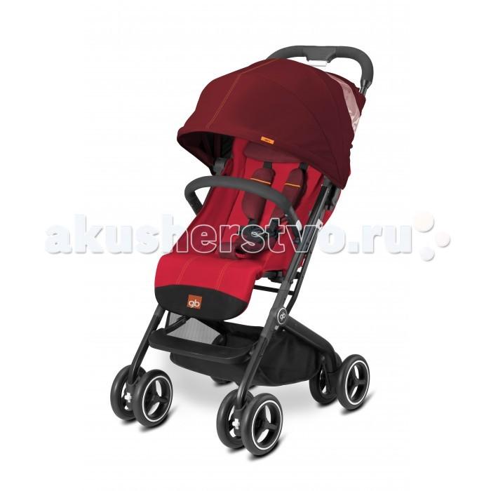 Прогулочная коляска GB Qbit+Qbit+Прогулочная коляска GB Qbit+ - стильная городская прогулочная коляска с  рождения. Легкое алюминиевое шасси классической стильной формы. На шасси может быть  установлено автокреско (через систему  адаптеров).   Легко складывается, компактна и самостоятельно стоит в сложенном виде. Комфортные 5-ти точечные ремни безопасности. Настройки положения спинки и подножки, блокировка передних колес, просторное широкое сиденье. Большая корзина для покупок с фиксацией  магнитной застежкой.  Прогулочный блок: для деток с рождения до 4-х лет 5-ти точечные ремни безопасности прочный бампер капюшон размером XXL смотровое окошко в капюшоне легкое управление одной рукой регулируемая подножка регулируемая спинка максимальная нагрузка: 17 кг.      Шасси: ручка эргономичной формы передние колеса поворотные с возможностью блокировки с помощью адаптеров (приобретаются отдельно) можно на шасси коляски установить автокресло Gb или Cybex вместительная корзина для покупок, нагрузка до 5 кг.  Размеры и вес: Размер в разложенном виде (дхшхв): 71х49х106 см Размер в сложенном размере (дхшхв): 42х49х53 см Вес: 7.6 кг.<br>