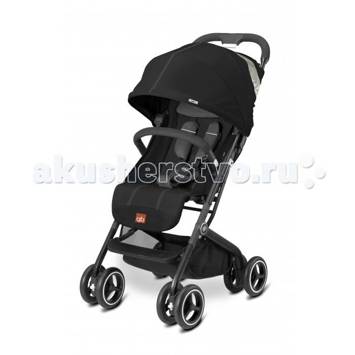Прогулочная коляска GB Qbit+Qbit+Прогулочная коляска GB Qbit+ - стильная городская прогулочная коляска с  рождения. Легкое алюминиевое шасси классической стильной формы. На шасси может быть  установлено автокреско (через систему  адаптеров).   Прогулочный блок может быть  установлен в разных направлениях. Легко складывается, компактна и самостоятельно стоит в сложенном виде. Комфортные 5-ти точечные ремни безопасности. Настройки положения спинки и подножки, блокировка передних колес, просторное широкое сиденье. Большая корзина для покупок с фиксацией  магнитной застежкой.  Прогулочный блок: для деток с рождения до 4-х лет 5-ти точечные ремни безопасности прочный бампер капюшон размером XXL смотровое окошко в капюшоне легкое управление одной рукой регулируемая подножка регулируемая спинка максимальная нагрузка: 17 кг.      Шасси: ручка эргономичной формы передние колеса поворотные с возможностью блокировки с помощью адаптеров (приобретаются отдельно) можно на шасси коляски установить автокресло Gb или Cybex вместительная корзина для покупок, нагрузка до 5 кг.  Размеры и вес: Размер в разложенном виде (дхшхв): 71х49х106 см Размер в сложенном размере (дхшхв): 42х49х53 см Вес: 7.6 кг.<br>