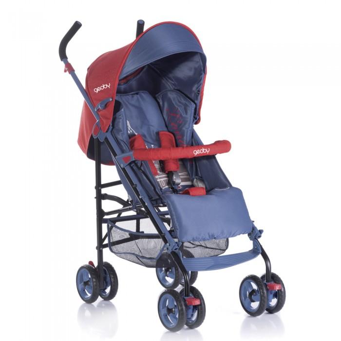 Коляска-трость Geoby D388W-FD388W-FКоляска-трость Geoby D388W-F предназначена для детей в возрасте от 1 до 4 лет.  Особенности :  - Плавная регулировка наклона спинки - Поворотные передние колеса с фиксаторами - Жесткая спинка - Разъемный ограничительный поручень - Тент со смотровым окном - Регулируемая подножка - Система ремней безопасности - Багажная корзина  В комплекте: дождевик, европолог, москитная сетка  Габариты:  - Размер в разложенном виде: 92 х 47 х 102.5 см. - Размер в собранном виде (ШхДхВ), см 30 х 27 x 106 см - Диаметр колес: 14.5 см. - Вес коляски: 7,7 кг.<br>
