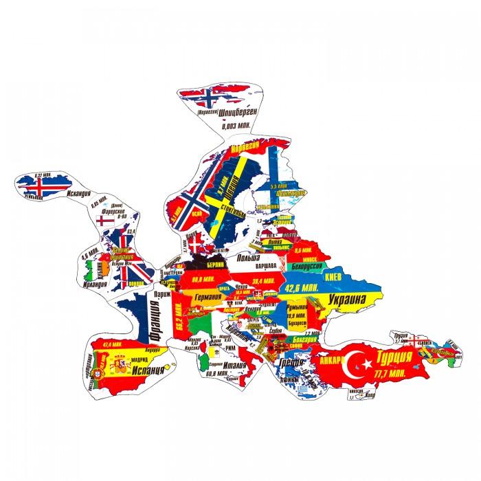 Атласы и карты Геомагнит Магнитный пазл Европа 44 элемента europa европа фотографии жорди бернадо