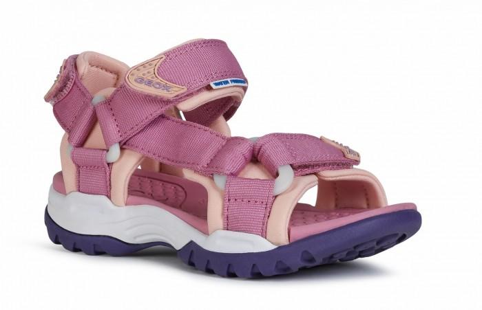 Босоножки и сандалии Geox Босоножки для девочек J720WA01115C босоножки quelle heine 170362