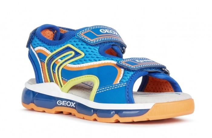 Босоножки и сандалии Geox Босоножки для мальчиков J020QB014BUC0685 босоножки quelle heine 170362
