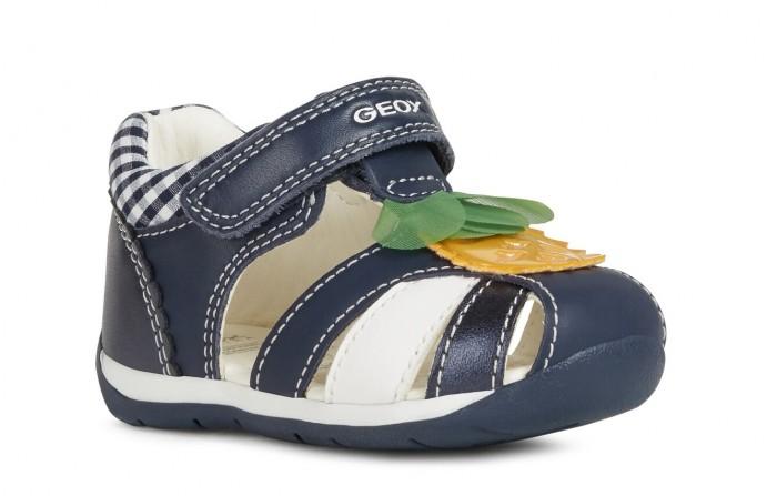Geox Сандалии для девочек Первые шаги B020AB085NFC4002