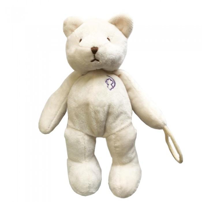 Фото - Комфортеры Drema BabyDou Игрушка с держателем для соски Мишка комфортеры drema babydou медведь с белым и розовым шумом 20 см