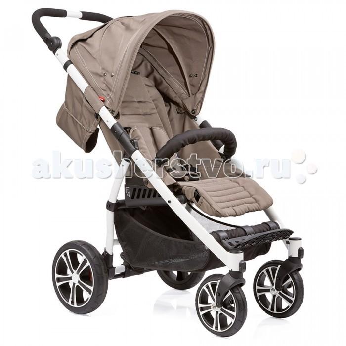 Прогулочная коляска Gesslein S4 Air+S4 Air+Прогулочная коляска Gesslein S4 имеет легкую и хорошо спроектированную раму весом всего 9.9 кг.  Регулируемая по углу наклона поверхность размером 86x33 см обеспечит вашему малышу комфорт в любом положении – спинка сиденья может наклоняться почти до горизонтального положения. Мягкие пятиточечные ремни безопасности и регулируемый съемный бампер оберегают ваше маленькое чадо от падений и резкого вставания.  Коляской S4 может управлять даже ребенок, поскольку ручка оборудована шарнирным соединением для изменения угла наклона, что, в свою очередь, влияет также и на высоту ручки. Таким образом, высота регулируется за секунды. Удобный ножной тормоз.  Большие колеса сзади и поворотные колеса спереди обеспечивают идеальную маневренность и оптимальный ездовой комфорт. Вместительная большая корзина для покупок и других полезных вещей.  В сочетании с люлькой от Gesslein C3 (не входит в комплект) Вы можете использовать эту коляску с самого рождения малыша. Коляска S4 идеально подходит для использования с детскими автокреслами Maxi Cosi (Cabriofix/Pebble) или с автокреслами Romer (Baby Safe Plus SHR II). Автокресла и адаптеры не включены в комплект коляски.  Коляска Gesslein S4 рассчитана на нагрузку до 20 кг. Приобрести ее можно в различных цветовых решениях.  Особенности: Регулируемая по углу наклона ручка – очень современная и удобная, особенно для женщин (не требует применения усилий) Колеса – одинарные поворотные колеса спереди с функцией блокировки, большие сзади Двойной подшипник – обеспечивает тихий и плавный ход колес Передние и задние амортизаторы Задний ножной тормоз Подставка под ножки – регулируется по высоте Спинка сиденья регулируется почти до лежачего положения Компактная база Вместительная и удобная в использовании корзина Защитный бампер – складывается и снимается.  Размеры и вес: Вес нетто: 9.9 кг Высота ручки: 90-113 см Размер спального места: 86x33 см Размер в сложенном виде: 70x58x40 см.<br>