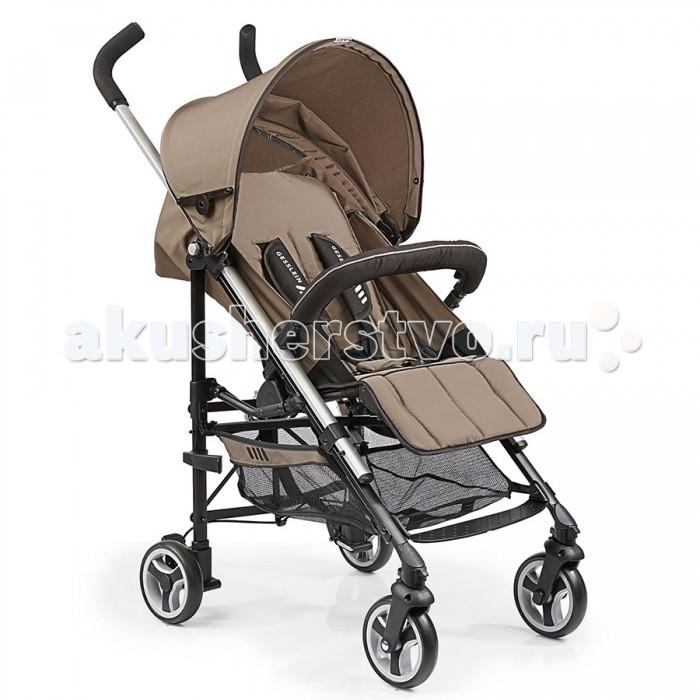 Коляска-трость Gesslein S5 2+2 SportS5 2+2 SportКоляска-трость Gesslein S5 2+2 Sport обеспечит Вас и Вашего малыша комфортом и безопасностью – она сочетает в себе городскую маневренность и функционал повседневного использования.  Вы можете начать использовать коляску S5 как только Ваш малыш научится сидеть. Легкая алюминиевая рама очень прочна и может полностью складываться в трость. Благодаря двум поворотным колесам спереди Вы можете легко маневрировать даже на узких улочках. В зависимости от обстоятельств Вы можете заблокировать колеса.  Спинка сиденья имеет несколько положений наклона, что позволит Вашему малышу уютно уснуть в коляске. Регулируемый увеличивающийся капор защищает Вашего малыша от ветра и плохой погоды, оборудован смотровым окном для контроля за малышом. Вместительная корзина для похода по магазинам и для других полезных принадлежностей.  Мягкие пятиточечные ремни безопасности и съемный/разъемный бампер оберегают Ваше маленькое чадо от падений и резкого вставания. Съемный/разъемный бампер, в свою очередь, также обеспечивает легкий доступ малыша в коляску.  Особенности: Алюминиевая рама Передние поворотные колеса с блокировкой Несколько позиций регулировки спинки сиденья Увеличивающийся капор для защиты от ветра и непогоды со смотровым окном Мягкий 5-ти точечный ремень безопасности Корзина для покупок и мелочей Съемный/разъемный бампер в комплекте Компактный размер в сложенном виде и легкий вес.  Размеры и вес: Наклонная поверхность: 88 x 32 см Спинка сиденья: 49 см Высота сиденья: 63 см Высота родительской ручки: 108 см Размер в сложенном виде: 28 x 20 x 99 см Вес: 6.8 кг.<br>