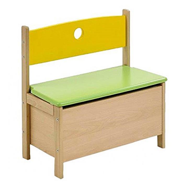 Детская мебель , Столы и стулья Geuther Скамья с ящиком для игрушек Pepino арт: 422679 -  Столы и стулья