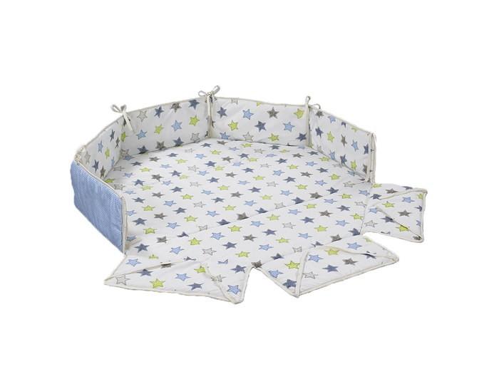Аксессуары для мебели Geuther Бампер для манежа Octo-Park бампер geuther мягкий бампер без бортов для манежа lucilee белый со звездами