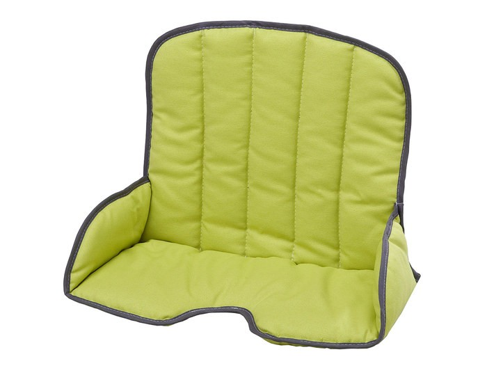 Geuther Мягкая вставка для стула 4745Мягкая вставка для стула 4745Geuther Мягкая вставка для стула 4745 подходит для стульев марки Geuther Tamino.  Вставка для стульчиков Geuther позволит Вашему малышу наслаждаться общением с взрослыми с большим комфортом, данный аксессуар легко вынимается и очищается в случае, ткань и отделка отвечают высоким стандартам качества и безопасности предотвращает скольжение.  Подходит для машинной стирки и сухой чистки<br>