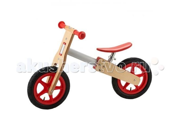Беговел Geuther SportsBikeSportsBikeДетский велосипед SportsBike от Geuther быстр как ветер!  Для всех будущих знаменитых спортсменов, которые хотят быть быстрее других, SportsBike - абсолютно незаменимая вещь! Изготовленный из модной композиции хромированного металла и дерева, он выглядит практически как настоящий велосипед.  Благодаря быстрозажимному приспособлению высоту эргономичного сиденья с мягкой обивкой можно регулировать индивидуально, что обеспечивает оптимальное положение для детей в возрасте от 14 месяцев до 3 лет. Мягкие ручки из гипоаллергенного каучука и установленные на шарикоподшипниках 12-дюймовые пневматические шины делают этот спортивный велосипед надежным спутником на любой дороге.   Особенности:   Сиденье с мягкой обивкой Пневматические шины Высота сиденья регулируется в диапазоне 35-40 см   Материалы:  Березовая фанера Хромированный металл<br>