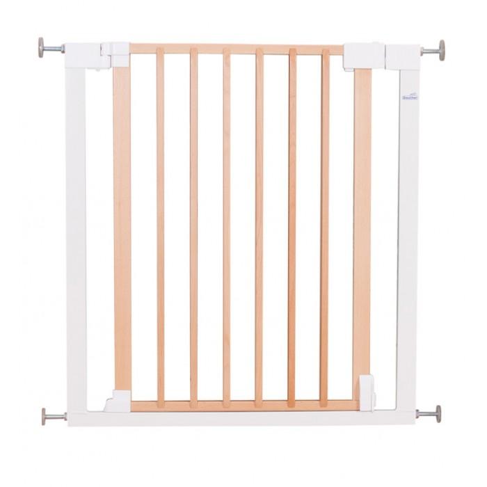 Безопасность ребенка , Барьеры и ворота Geuther Ворота безопасности деревянные Vario Safe 74-82 см арт: 304506 -  Барьеры и ворота