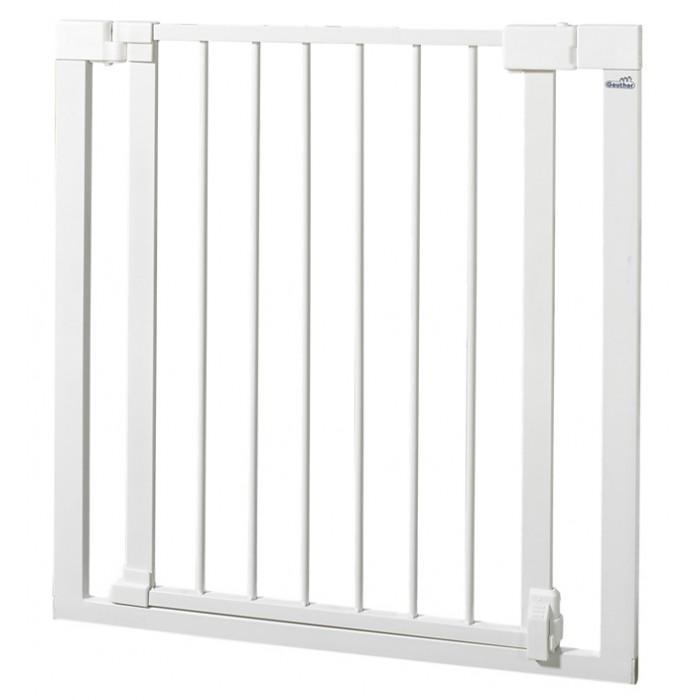 Безопасность ребенка , Барьеры и ворота Geuther Ворота безопасности металлические Vario Safe 74-82 см арт: 304515 -  Барьеры и ворота