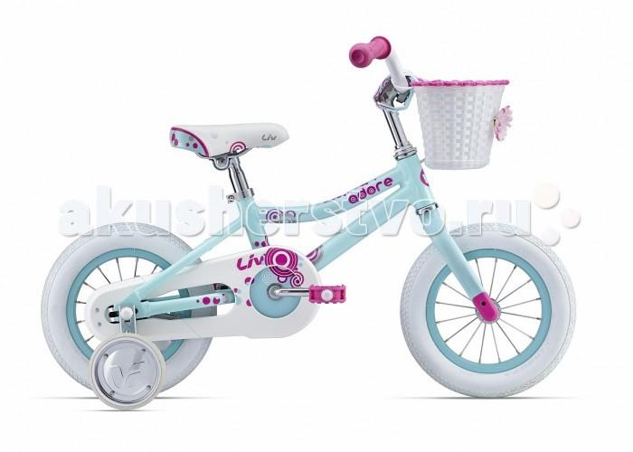 Велосипед двухколесный Giant Adore C/B 12Adore C/B 12Велосипед двухколесный Giant Adore C/B 12    Ее первый двухколесный друг. Первый в жизни великий опыт. Яркий и разноцветный Adore с удовольствием поможет в этом.   Легкая и прочная рама с заниженной трубой, адаптированная для детей.  Удобная посадка и легкость в управлении - специально для маленьких райдеров.  12 колеса.  Рама из сплава ALUXX.  Алюминиевые ободные тормоза.  Покрышки Giant Easy Balance.  Тренировочные колеса в комплекте.  Защита цепи для чистого безопасного катания.<br>