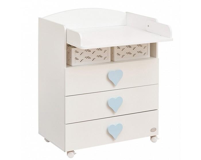 Детская мебель , Комоды Giovanni Emily пеленальный (3 ящика) арт: 517631 -  Комоды