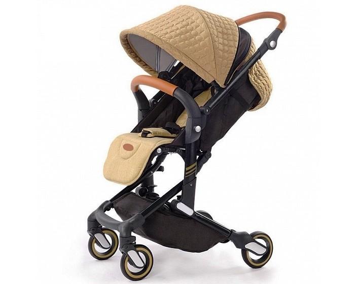 Прогулочная коляска Giovanni G-SmartПрогулочные коляски<br>Giovanni Коляска прогулочная G-Smart  Суперлегкая, компактная, модная прогулочная коляска премиум-класса. Коляска идеальна для путешествий - складывается одной рукой - легкое и быстрое движение за 10 секунд.   Наклон регулируется ремешком и принимает угол до 175 градусов, что оптимально для ребенка c первых месяцев жизни. Упругая спинка гарантирует правильное положение детской спины, а мягкий матрасик из memory foam (эффект памяти) и накидка на ножки - комфорт и уют крохи.  Пятиточечные ремни безопасности и отличная амортизация - идеальны для прогулок в городе и на пересеченной местности. Подходит под размер ручной клади во время авиаперелета.  Шасси: Поворотные передние PU колеса Ножной тормоз Амортизационная передняя и задняя подвески Высококачественные материалы Алюминиевая рама Прогулочный блок: Пятиточечный ремень безопасности с мягкими накладками Регулируемая ручка из ЭКО кожи Регулировка спинки до 175 градусов Большой реверсивный капюшон с вентиляционной секцией на молнии Регулируемая подножка Водоотталкивающие дышащие материалы Съемный защитный бампер с антибактериальным покрытием Комплектация: Матрасик memory foam - повторяет анатомическую форму тела Утеплённая накидка на ножки в цвет капюшона (3 слоя) Размеры и вес: Ширина сиденья 35 см Длина спального места: 82 см Высота сиденья от земли 53 см Размеры в разложенном виде: 50х62х102 см Размеры в сложенном виде: 54x28x50 см Вес: 7,6 кг