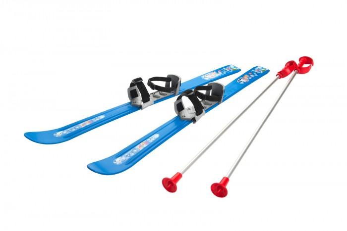 Ледовые коньки и лыжи Gismo Riders Детские лыжи с палками и креплениями Baby Ski 90 см