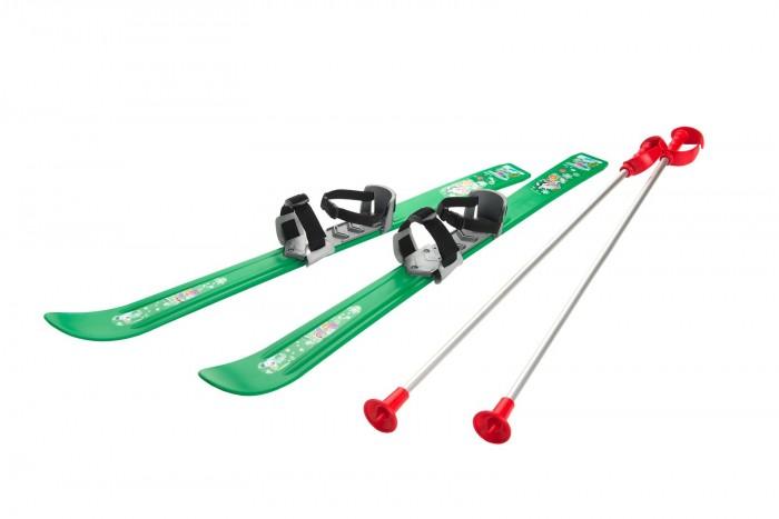 Ледовые коньки и лыжи Gismo Riders Детские лыжи с палками и креплениями Baby Ski 90 см, Ледовые коньки и лыжи - артикул:377269