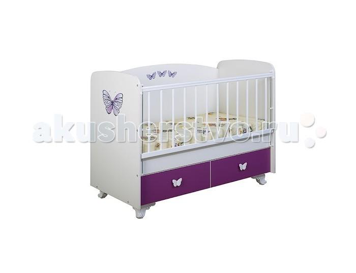 Детская кроватка Glamvers Classic поперечный маятник
