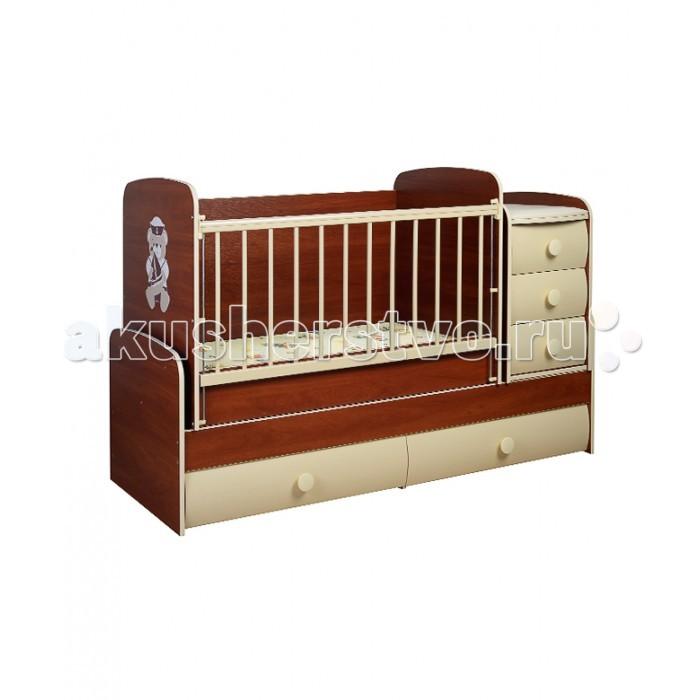 Кроватка-трансформер Glamvers Comfort VIP поперечный маятникComfort VIP поперечный маятникКроватка-трансформер Glamvers Comfort VIP поперечный маятник порадует родителей своим достойным качеством и подарит малышу комфорт с первых дней жизни, на всех этапах взросления. Мебель известного бренда «растет» вместе со своим маленьким хозяином, обеспечивая удобство и уют в комнате ребенка.  Особенности: Детская мебель известного бюджетного бренда Glamvers обладает ключевыми характеристиками: качеством, надежностью, удобством и функциональностью. При этом находится в демократичном ценовом сегменте, представлена большим выбором цветовых решений каждой модели. Кроватка-трансформер Glamvers рассчитана на детей с рождения и до 10 летнего возраста. Пока ребенок маленький, конструкция может быть базовой: совмещать в себе детскую кроватку с боковыми защитными панелями и приставленным на основу комодом.<br>