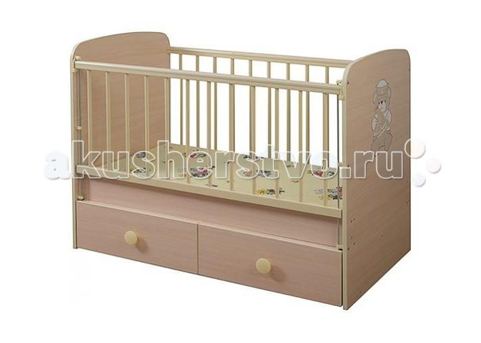 Детская кроватка Glamvers Magic Plus поперечный маятник