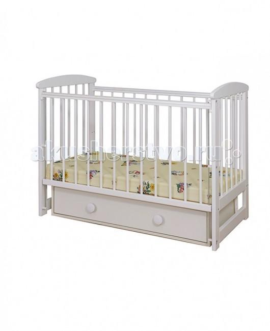 Детская кроватка Glamvers Simple поперечный маятник