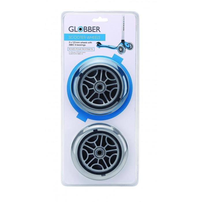 Аксессуары для велосипедов и самокатов Globber Запасное колесо для самоката 125 мм Whell Set For Primo/Evo/Elite/Flow 125