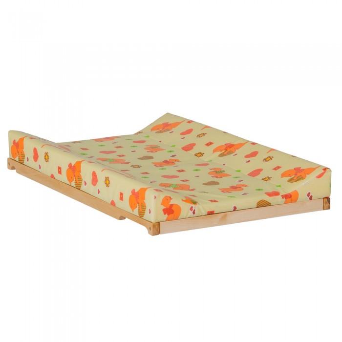 Накладки для пеленания Гном Накладка для пеленания на кроватку 80х50 мягкая накладка на банку лидер 80 20