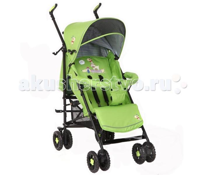 Коляска-трость Glory 11091109Практичная и легкая детская коляска-трость для детей от полугода до 3 лет (максимальный вес - 18кг).  Особенности: солнцезащитный козырек; съемный бампер-перекладина; легкая в управлении, маневренная и устойчивая; сдвоенные колеса, передние – поворотные с функцией блокировки; наклонная спинка (5 положений); высота подножки регулируется; 5-точечные ремни безопасности; облегченная рама из прочного материала (алюминий); складывается по типу трости даже при помощи одной руки; детская коляска в сложенном виде компактна, что удобно для транспортировки; имеется ручка для переноски; сетка для покупок.  Габариты: Размеры в разложенном виде 50х85х90 см Ширина колесной базы 50 см Длина спального места 70 см Ширина прогулочного сиденья 33 см<br>