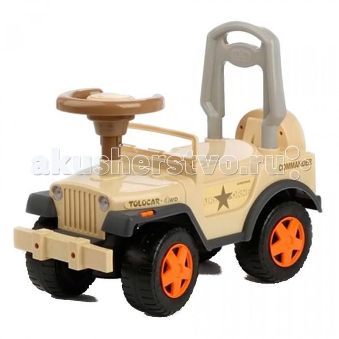 """Каталка Glory Tolocar LBL 608-MCTolocar LBL 608-MCСтильная музыкальная машинка для детей от 2 до 5 лет. На каталке можно ездить верхом, отталкиваясь ногами от пола.   Особенности:  - Поворот передних колес управляется рулем - Широкие, устойчивые колеса поворачиваются на 90 градусов - Машинка движется вперед и назад - Сзади высокая спинка, за которую малыш может держаться при ходьбе - Стильная декоративная """"запаска"""" - Большие, прочные колёса - Звуковое сопровождение - Изготовлена из качественных, нетоксичных и безопасных материалов  Батарея: AA(1.5Vx3) Материал: пластмасса Размеры: 53,х25х46 см Нагрузка: до 27 кг Вес: 2.5 кг<br>"""