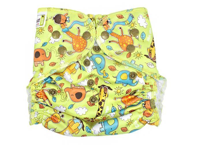 Многоразовые подгузники и трусики GlorYes Многоразовый подгузник для плавания Жирафы многоразовые подгузники и трусики gloryes многоразовый подгузник для плавания летчик