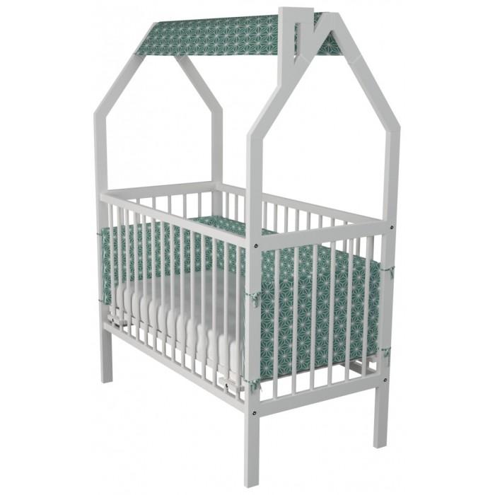 Детская кроватка Гном Домик Simply