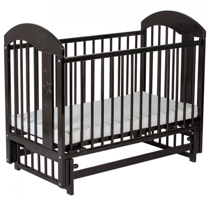 Детская кроватка Гном маятник поперечный Луна 119x60 см