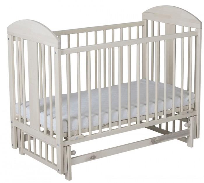 Детская кроватка Гном маятник поперечный Мишка 119x60 см