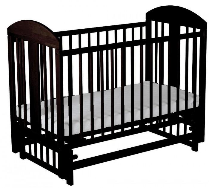 Детские кроватки Гном Мишка маятник поперечный