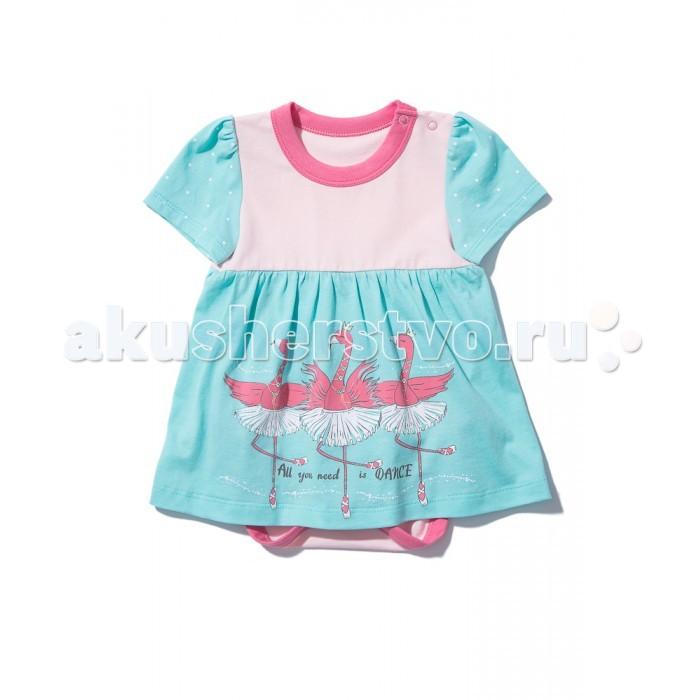 Боди и песочники Goldy Боди-платье для девочки 721.004.202