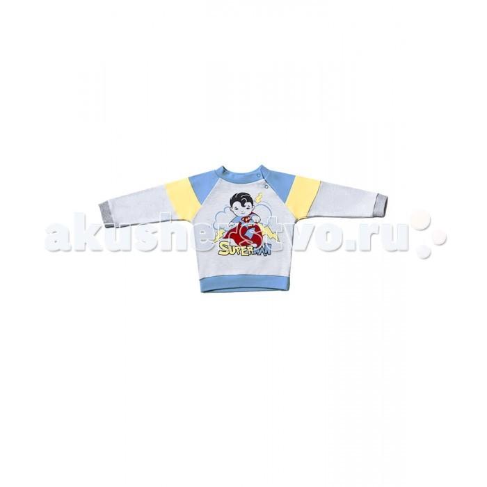 Распашонки и кофточки Goldy Кофточка для мальчика Супергерои 624.037.061 goldy белый с голубыми манжетами