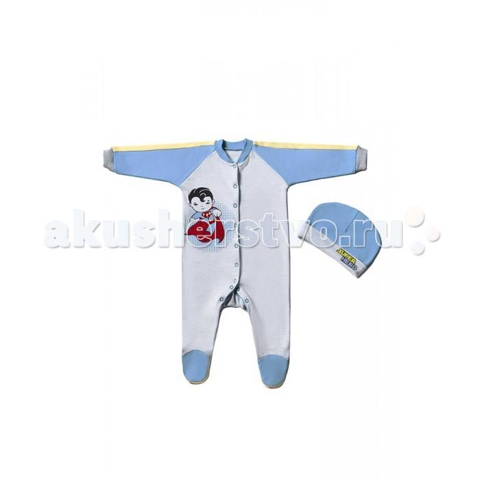 Комплекты детской одежды Goldy Комплект для мальчика Супергерои 624.048.021
