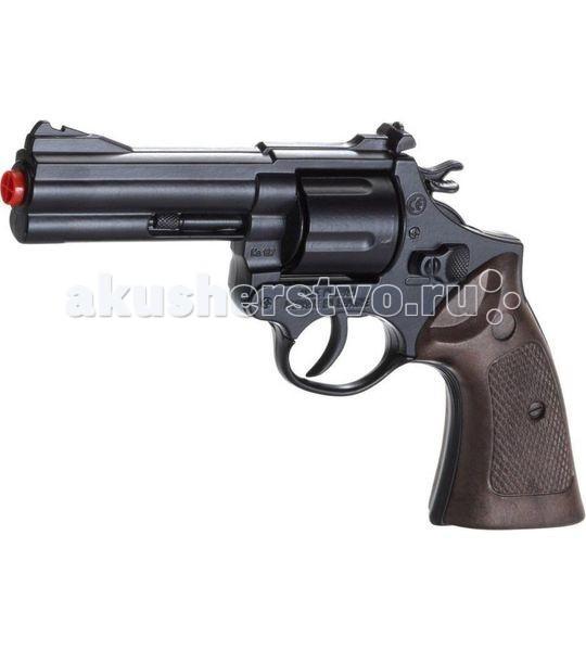 Игрушечное оружие Gonher Игрушка Револьвер Police 127/6 сигнальный револьвер блеф наган