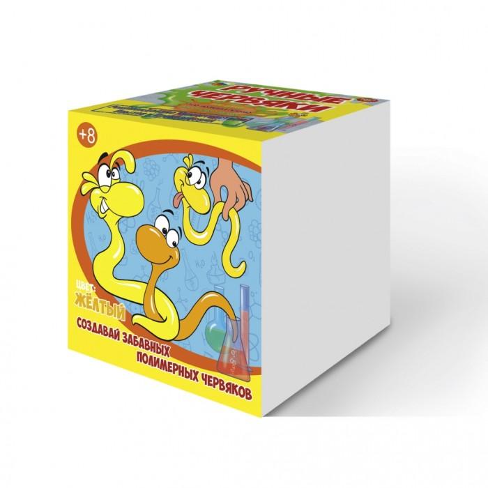 Наборы для творчества Good Fun Набор для опытов Цветные полимерные червяки раствор серебра в аптеке домодедово
