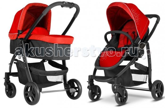 Коляски 2 в 1 Graco Evo 2 в 1 коляска graco graco прогулочная коляска mirage w parent tray and boot jaffa stripe