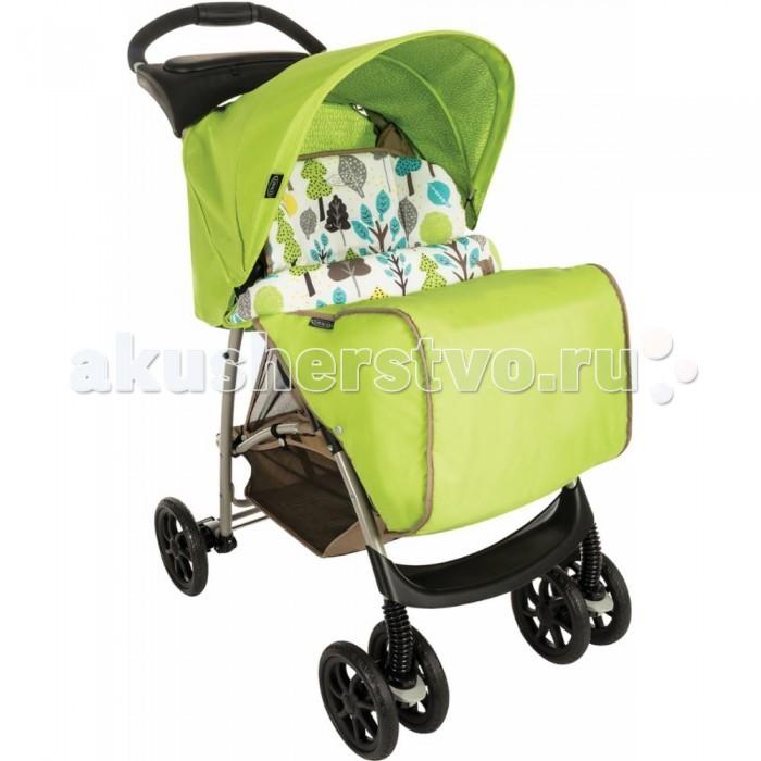Прогулочная коляска Graco MirageMirageПрогулочная коляска Graco Mirage со столешницей и накидкой для ножек комфортная для малыша и удобная в управлении для мамы. Легкая и маневренная прогулочная коляска Graco Mirage проста в обращении, компактно складывается для транспортировки и хранения.  Комфорт и уют для малыша: простота маневрирования в ограниченном пространстве и узких проходах, благодаря передним поворотным колесам широкое регулируемое сидение с мягкими комфортными накладками 3 положения спинки обеспечивают малышу комфорт, когда он спит или сидит в сложенном состоянии стоит без опоры поднос для игр, также служит ограждением большая легкодоступная корзина комфортабельная подушка сиденья  автоматический замок фиксирует коляску в сложенном положении, упрощая ее транспортировку  сиденье снимается и стирается  во время прогулки мама имеет возможность наблюдать за ребёнком через солнцезащитное, затемнённое окошко, расположенное в верхней части капюшона  эргономичная ручка  Надежность:  высококачественная прочная рама гарантирует комфорт и безопасность вашего малыша стальная рама  капюшон с верхним окошком для возможности наблюдения за малышом и хорошая защита от солнца (ткань прошла испытания на устойчивость к УФ-лучам 5-точечный ремень для надежного крепления ребенка  простая и практичная моментальная система складывания, позволяет вам сложить коляску одной рукой, удерживая ребенка.  Колеса: передние поворотные, с фиксаторами в переднем направлении задний ножной тормоз  поворотность колёс даёт возможность легко и плавно повернуть коляску в нужном направлении.<br>