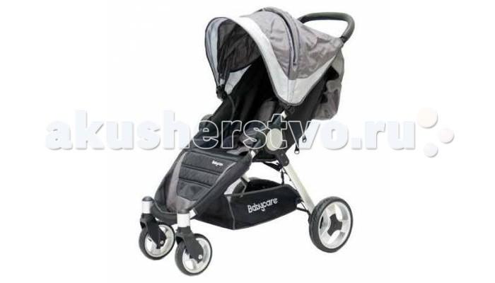 Прогулочная коляска Baby Care Variant 4Variant 4Baby Care Variant 4 - прогулочная коляска на облегченной раме. Очень удобная модель как для малыша, так и для родителей.   Спинка механически раскладывается до 170 градусов. Есть три положения фиксации. Подножку также можно настраивать по высоте. С ее помощью получается просторное спальное место оптимальной длины. Большой капюшон опускается до бампера.    На ручке имеется приятная кожаная накладка, которую можно при желании отстегнуть. Посадочное место оснащено 5-точечными ремнями безопасности. Коляска компактно складывается книжкой и устойчива в сложенном положении.  Особенности: облегченная рама; три положения наклона спинки; 5-точечные ремни безопасности; регулируемая по высоте подножка; передние колеса с фиксацией; сетчатая корзинка для вещей; капюшон опускается до бампера; коляска компактно складывается книжкой.  Комплектация: чехол на ножки.  Особенности: Диаметр колес: передние - 15 см, задние - 23 см. Размеры коляски 73х56х98см. Размер сидения: 24х31см. Высота сидения от пола - 40 см. Длина спинки - 46 см. Вес коляски - 8.23 кг. Вес упаковки - 9.53 кг.<br>