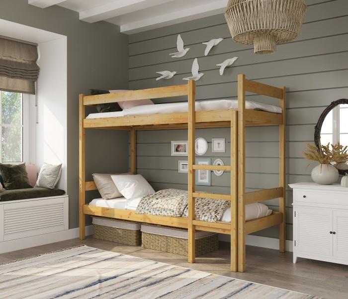 Кровати для подростков Green Mebel двухъярусная Т2 70х160 см