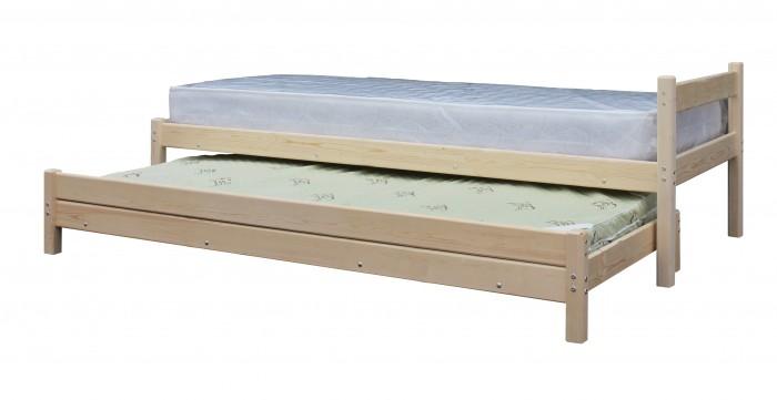 Кровати для подростков Green Mebel с выдвижным спальным местом 2 в 1 80х200 см