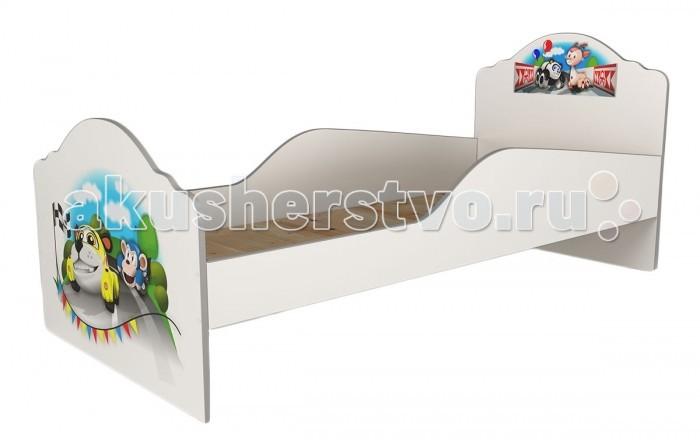 Детская кроватка Grifon Style Elegance базовая 180х80 смElegance базовая 180х80 смGrifon Style Кровать Elegance базовая 180х80 см   Размеры базовой модели (длина х ширина х высота): 188.5 х 84.5 х 85 см  Детская кровать выполнена из экологически чистых материалов. Белоснежное ЛДСП (egger), красивые и яркие картинки.  Практичная и надежная модель кровати из новой линейки еще и очень доступна по цене. Картинки нанесены на УФ Принтере HP Scitex FB 700 1200 dpi.  Полностью соответствует ГОСТу для использования в детских учреждениях.  Размер спального места 180 х 80 см.  Основание из фанеры 12 мм, которое прикручивается по периметру кровати. Это придает ей непревзойденную жесткость и надежность.  Может комплектоваться ящиками или выдвижным спальным местом.  Ящики 2 шт. на 4 выкатных колесиках каждый. Объемные, надежные, для хранения большого количества вещей.  Размер ящика (ШхГхВ): 92 х 84 х 20 см  Выдвижное место 180х80: Для второго ребенка на 6 выкатных колесиках, практичное и надежное.  Размер выдвижного места 188.5 х 84.5 х 20 см<br>